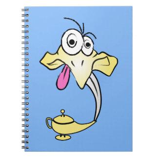 Caderno Espiral Génios engraçados