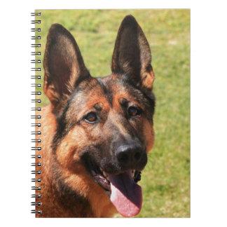 Caderno Espiral German shepherd de Malinois do belga