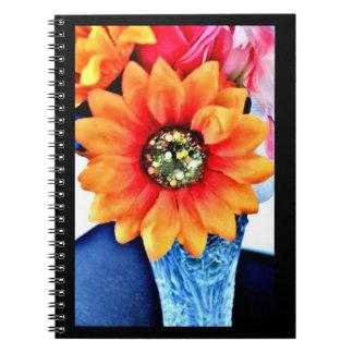 Caderno Espiral Girassol do brilho