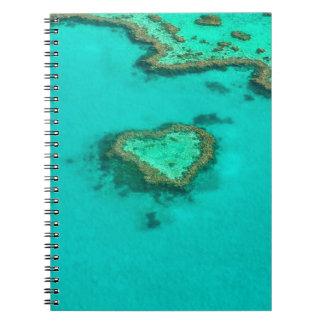 Caderno Espiral Grande recife de coral