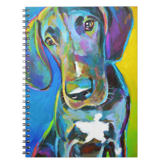 Caderno Espiral GREAT DANE colorido