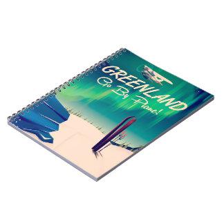 Caderno Espiral Greenland 'vai pelo plano! '
