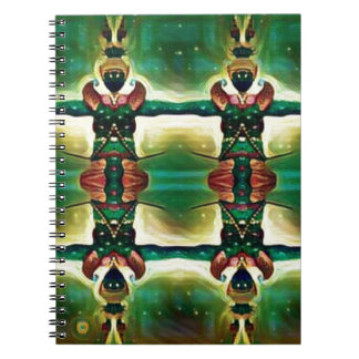 Caderno Espiral Guarda psicadélico