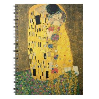 Caderno Espiral GUSTAVO KLIMT - O beijo 1907