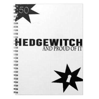 Caderno Espiral Hedgewitch e orgulhoso dele