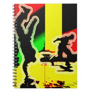 Caderno Espiral Hip Hop.