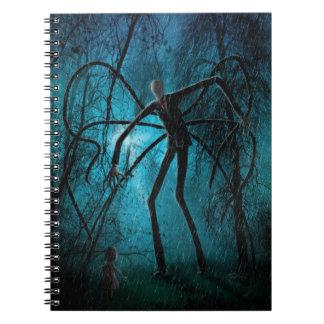 Caderno Espiral Homem delgado e a alma perdida
