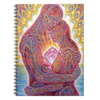 Caderno Espiral Homem e mulher