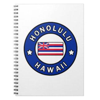 Caderno Espiral Honolulu Havaí