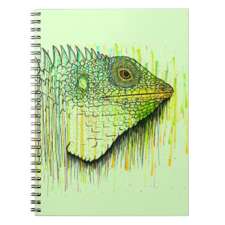 Caderno Espiral Iguana