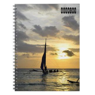 Caderno Espiral Ilha de Boracay