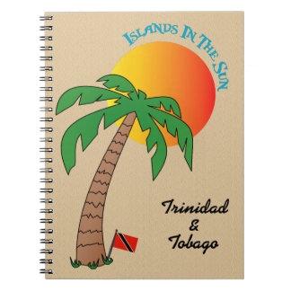 Caderno Espiral Ilhas de Trinidad and Tobago em The Sun