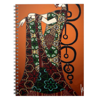 Caderno Espiral Imperatriz da jóia