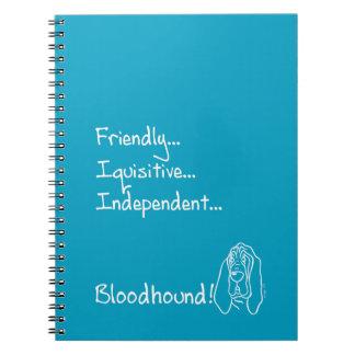 Caderno Espiral Inquisitive Bloodhound
