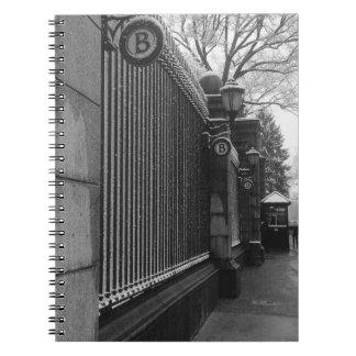 Caderno Espiral Inverno de Barnard