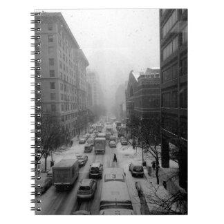 Caderno Espiral Inverno NYC
