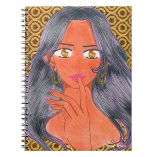 Caderno Espiral Investigação de Aiesha Tonie ?a