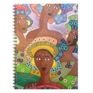 Caderno Espiral irmãs