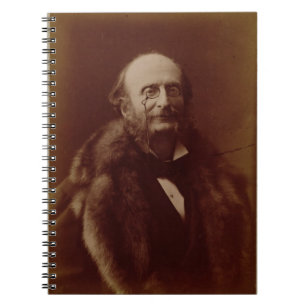 Caderno Espiral Jacques Offenbach (1819-80), compositor alemão, po
