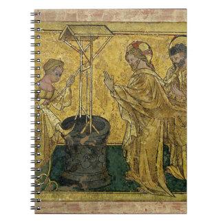 Caderno Espiral Jesus e a mulher do samaritano no poço