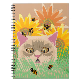 Caderno Espiral Joaninhas demais - Pastel