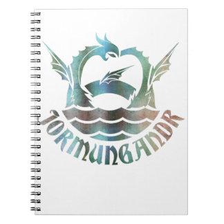 Caderno Espiral Jormungandr