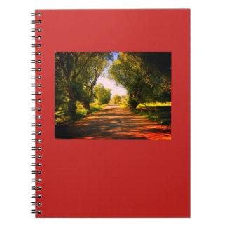 Caderno Espiral Jornal da estrada secundária