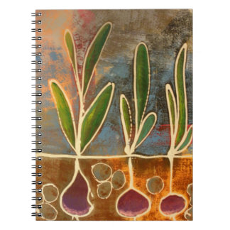 Caderno Espiral Jornal de jardinagem
