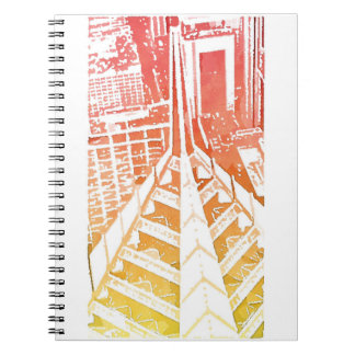 Caderno Espiral Jornal do arranha-céus de Chicago