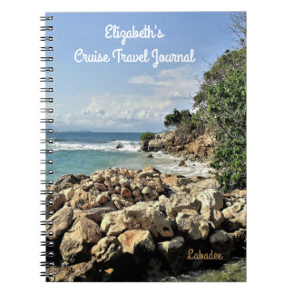 Caderno Espiral Jornal do cruzeiro do costume do no. 2 do Seascape