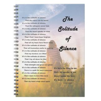Caderno Espiral Jornal do silêncio e da solidão
