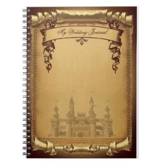 Caderno Espiral Jornal uma vez Wedding
