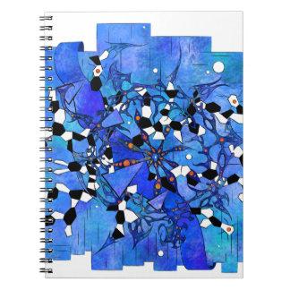Caderno Espiral Katelous - mundo congelado do cobra