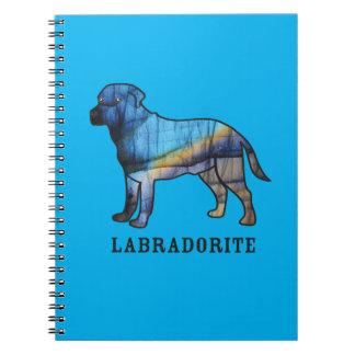 Caderno Espiral Labradorite