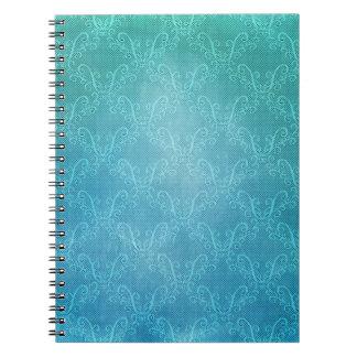 Caderno Espiral Laço do Aqua