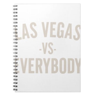 Caderno Espiral Las Vegas contra todos