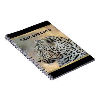 Caderno Espiral Leopardo 1