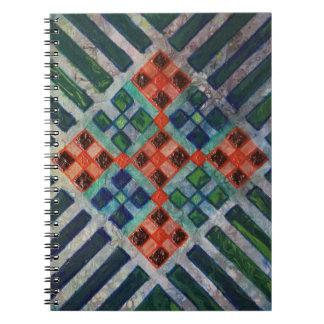 Caderno Espiral Linha arte 2