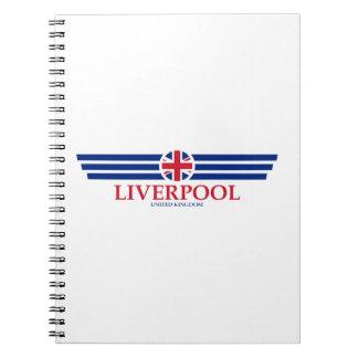 Caderno Espiral Liverpool