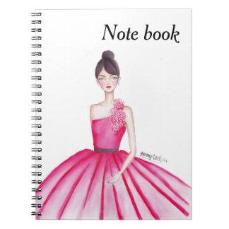 Caderno Espiral Livro da princesa nota