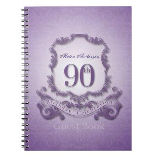 Caderno Espiral livro de hóspedes quadro costume da celebração do