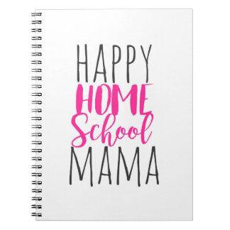 Caderno Espiral Livro de nota de Homeschool