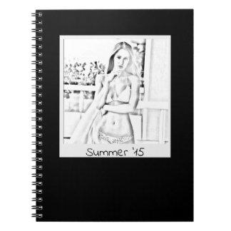 Caderno Espiral livro de nota personalizado
