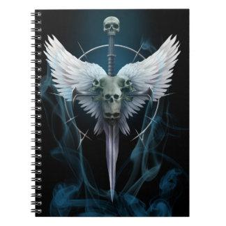 Caderno Espiral Livro de nota V1 da amargura do anjo