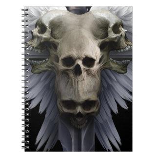 Caderno Espiral Livro de nota V2 da amargura do anjo