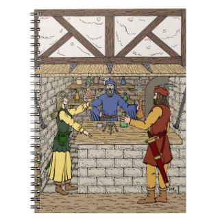 Caderno Espiral Loja do Apothecary