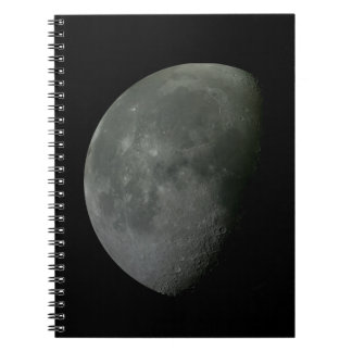 Caderno Espiral Lua crescente!