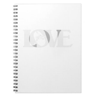 Caderno Espiral Luta do Wrestle do amor