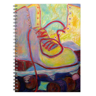 Caderno Espiral Luz colorida por todo o lado em meus skates