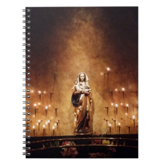 Caderno Espiral Madonna & criança